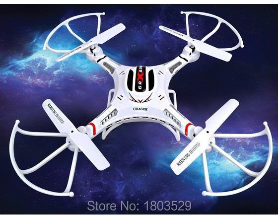 Free Shipping RC Helicopter DFD F183 6 Axis GYRO font b Drone b font Quadcopter with