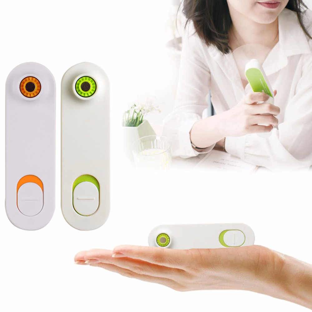 Mini Air Conditioner Fan Portable USB Cooler Cooling Rechargeable Handheld Micro Without Rotation