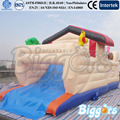Envío gratis por mar casa de brinco inflables trampolín inflable castillo inflable con animales para la venta