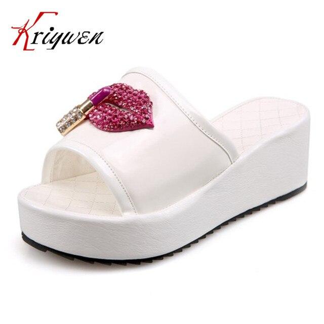 lèvres de Le dames pour de cristal femmes de glisse des rouges partie de coins d'été élégant p7qwX7r