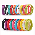 Femperna Colorful Silicone Wrist Strap Bracelet Replacement Watchband for Miband 2 Xiaomi Mi band 2 OLED Display Wristbands Belt