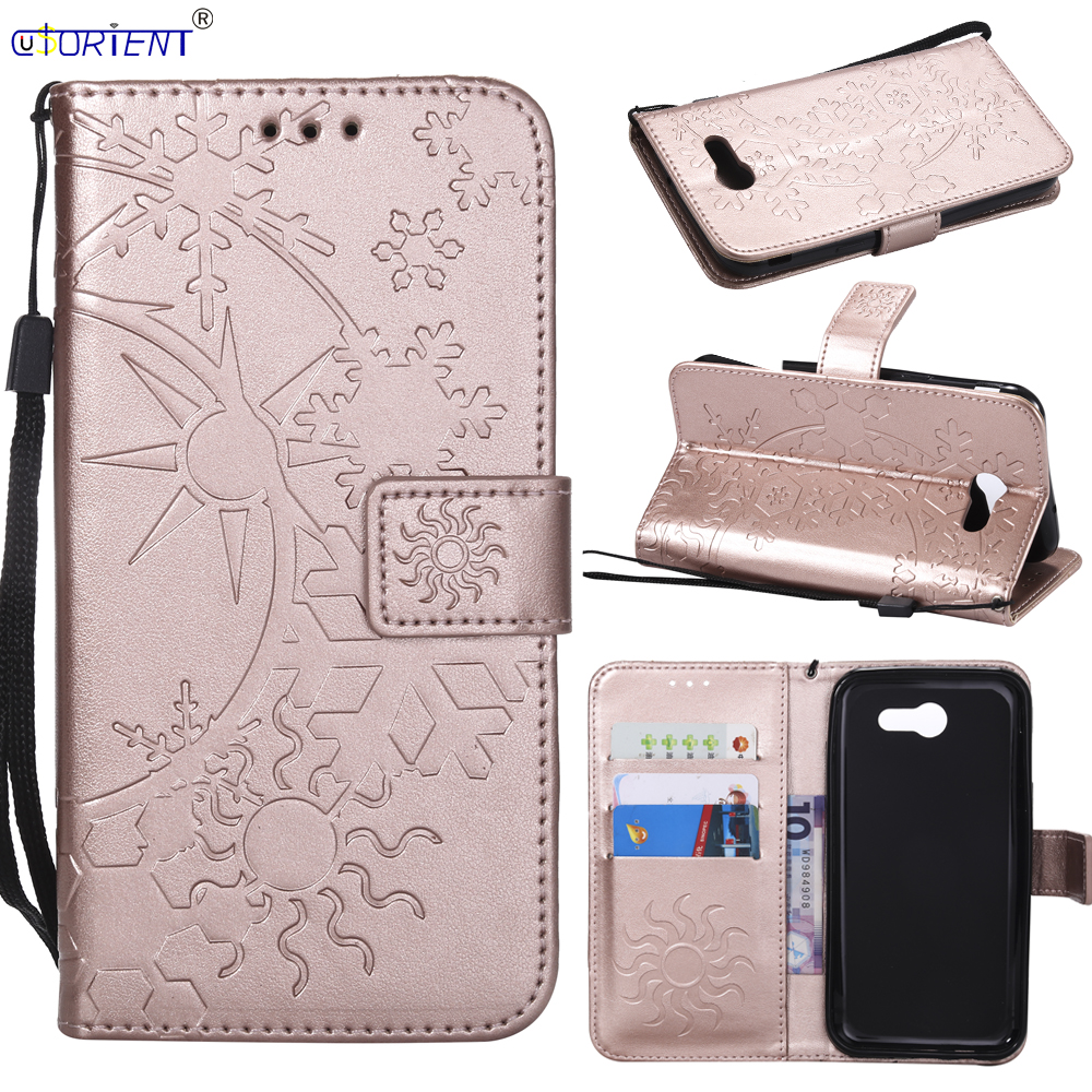 Reasonable Flip Case For Samsung Galaxy J327 J3 Emerge J3 Prime 2017 Leather Wallet Bumper Cover Sm J327p J327a/v/t/r4 Card Slot Phone Bag To Rank First Among Similar Products