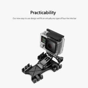Image 5 - Vamson para gopro acessórios kite linha montagem kiteboarding j gancho fivela para go pro herói 8 7 6 5 4 3 para sj4000 para yi vp519