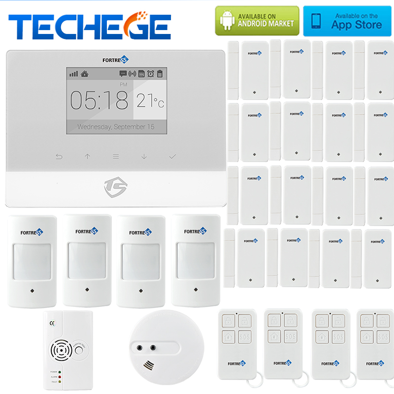 Smart home alarm systems security android ios app for Smart home alarm system