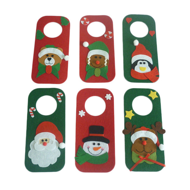 Christmas Doorplate Ornaments Cute Door Hanger Santa Snowman Elk Bear Penguin Gingerbread Door Pendant Christmas Decoration  sc 1 st  AliExpress.com & Christmas Doorplate Ornaments Cute Door Hanger Santa Snowman Elk ...