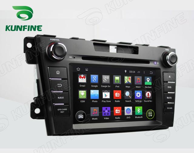 Quad Core 1024*600 Android 5.1 Carro DVD GPS Leitor de Navegação Som do carro para MAZDA CX-7 2012 Rádio GPS 3G WIFI Bluetooth