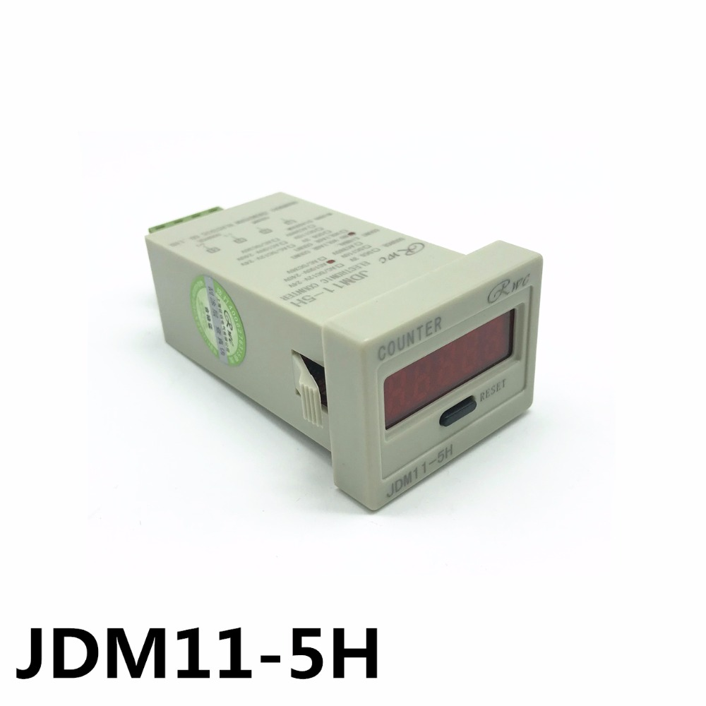 5-digit digital electronic counter JDM11-5H power-off memory high quality power and memory 6 electronic counter jd116h other page href