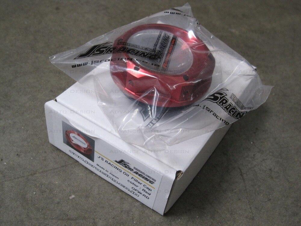 J гонки маслоналивная горловина Кепки красный металлик OFW-ms подходит Honda Acura JDM ...