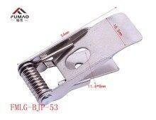 Manufacturer supplied 55mm flat steel spring for lighting LED panel