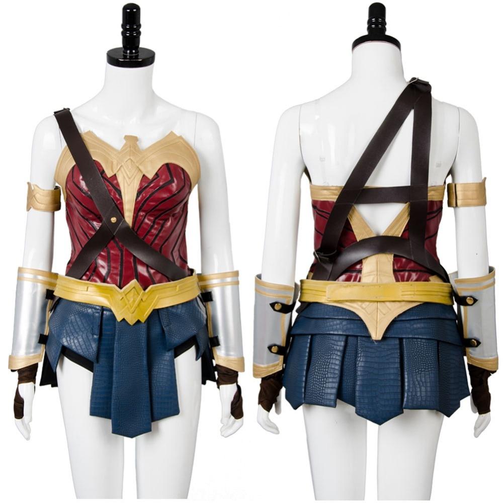 Batman Cosplay Batman v Superman:Dawn of Justice Wonder Woman Cosplay Costume Gal Gadot Diana Suit Cosplay Costume Free Shipping