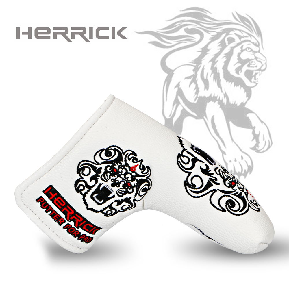 Golf club Putter wedge Headcover for Blade Golf Putter white/black to choose