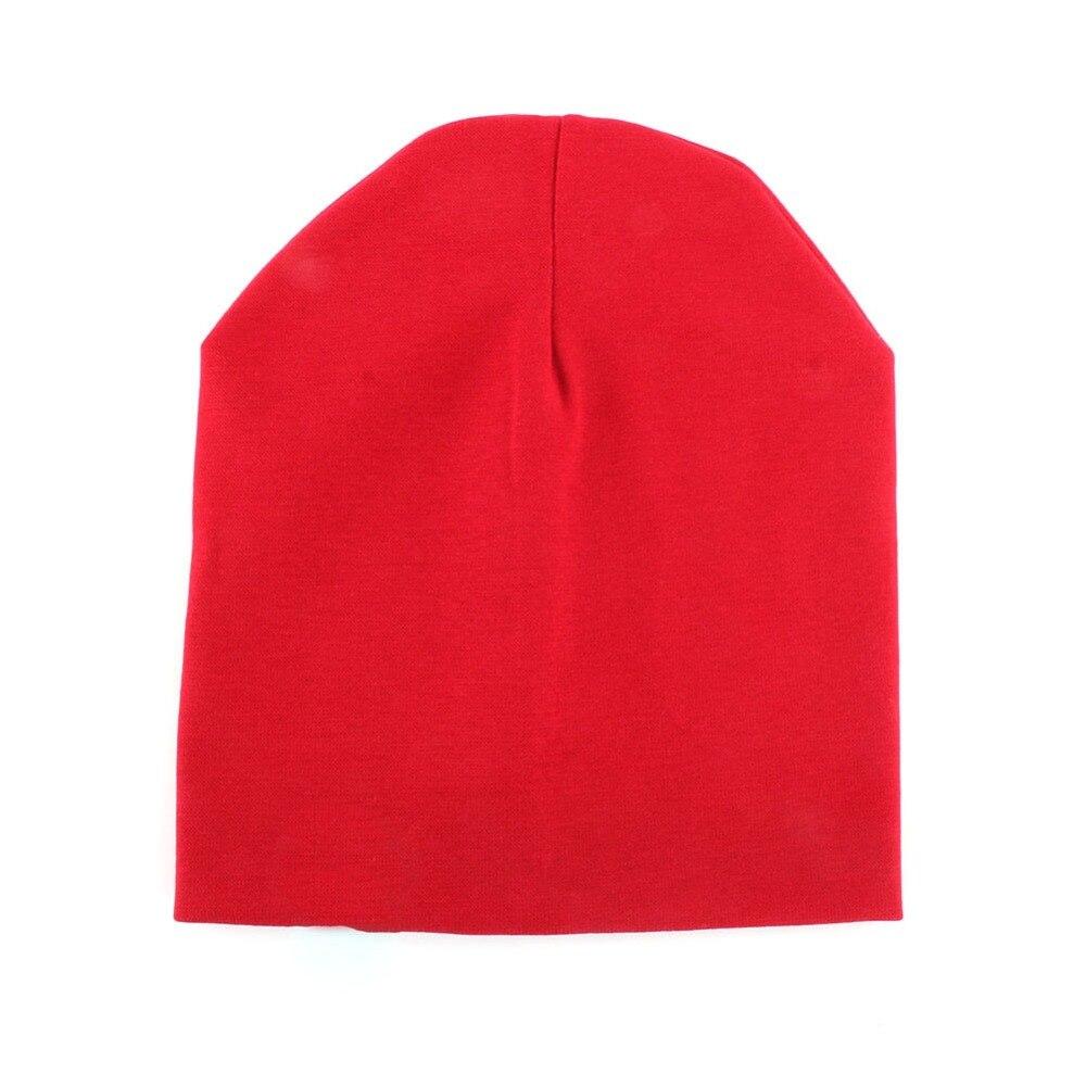Spring New Fashion Girls Caps Candy Colors Boy Girl Cotton Warm Soft Crochet Cute Hat Cap Beanie