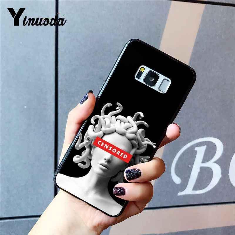 Yinuoda Medusa David statue alternative fashion art Phone Case for Samsung Galaxy S7edge S6 edge plus S10 S8 S7 S9 Plus case