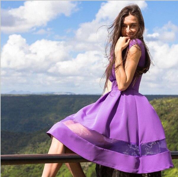 47c55cd83 2019 new arrival fashion women knee-length Dress casual wild short sleeve  chiffon dress comfortable black o-neck a-line dresses