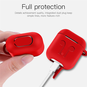 Image 3 - Soft Silicone Case For Apple Airpods Shockproof Cover Earphone Case For Air Pods  Protective Cover Waterproof