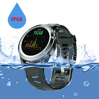 H1 Heart Rate Bluetooth 400*400 IP68 Waterproof Smartwatch 4GB+512MB with 5.0M HD Camera SIM Support GPS/ WIFI Health Tracker