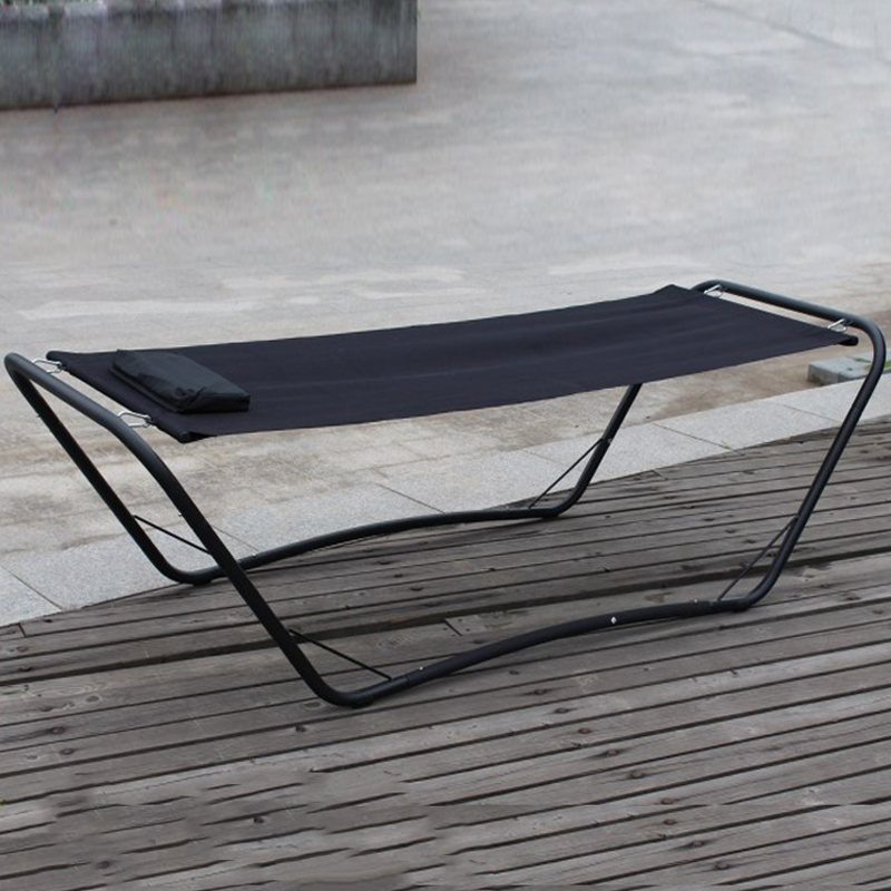 Merveilleux Durable Steel Iron One Person Leisure Outdoor Swing Bed Garden Sleeping  Hammock Daybed In Patio Swings From Furniture On Aliexpress.com | Alibaba  Group
