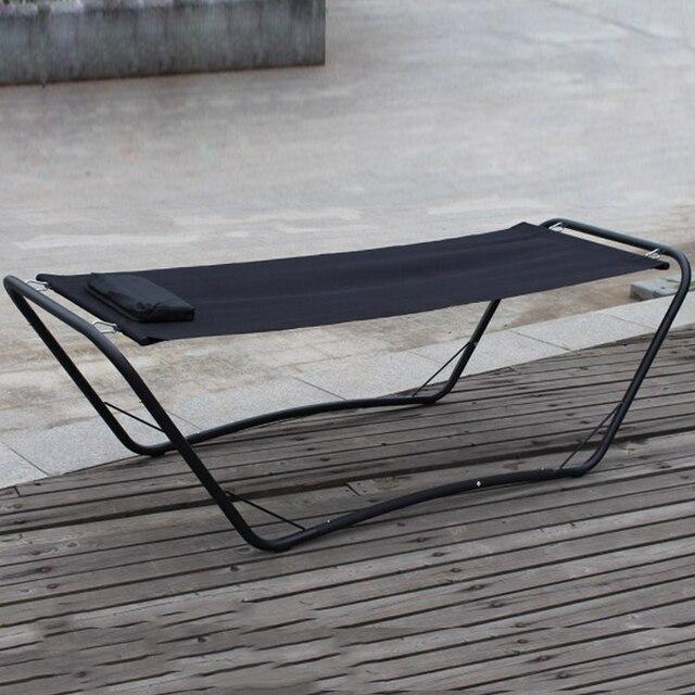 durable steel iron one person leisure outdoor swing bed garden sleeping hammock daybed durable steel iron one person leisure outdoor swing bed garden      rh   aliexpress