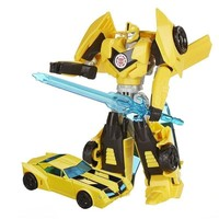 12cm Original Anime Transformation plastic Bumblebee model children Toy Dolls Gifts