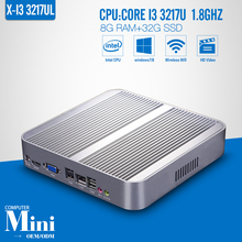 Mini PC Window Laptop Computer  i3 3217u 8G RAM+32G SSD+WIFI Mini PC Computer Cable Tablet Support HD Video Windows 7/8.1