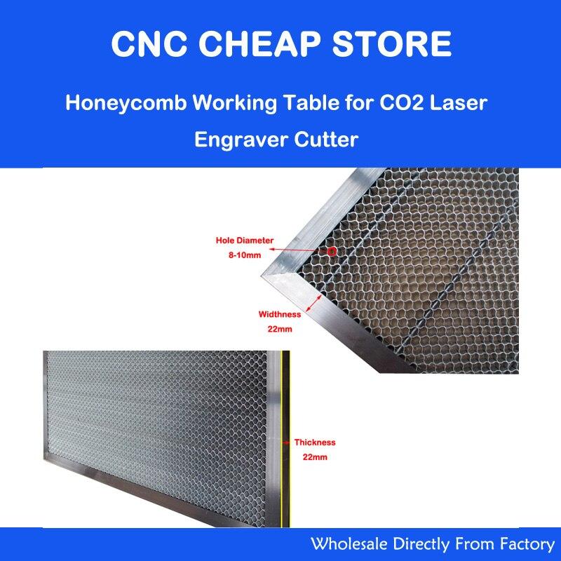Laserkomplektide varuosad kärgstruktuuri töölaud CO2 lasergraveeri - Puidutöötlemismasinate varuosad - Foto 2