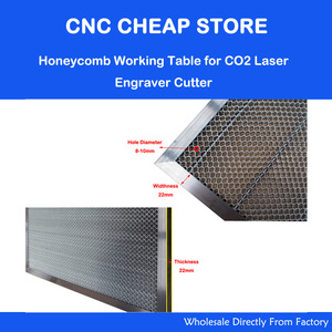 Image 2 - Laser Enquipment Parts Honeycomb Working Table For CO2 Laser Engraver Cutting Machine Shenhui SH K40 Stamp Engraver 320x220mm
