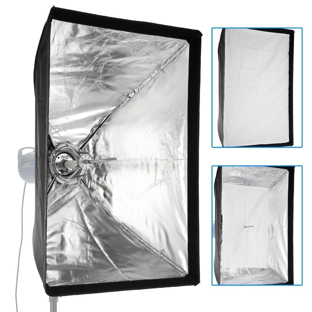Meking 60cmx90cm/24x36 Soft Box Lighting Softbox K6090 with Bowens Mount Quick Setup for photographic Studio AccessoriesMeking 60cmx90cm/24x36 Soft Box Lighting Softbox K6090 with Bowens Mount Quick Setup for photographic Studio Accessories