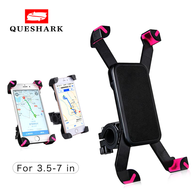 Universal Bicycle Phone Holder Handlebar Clip Stand For iPhone 8 7 5 SE Mount Bracket Bike Phone holder For Samsung S8 S7