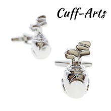 Cufflinks for Men Sports Golf Bag High Quality  Gifts Shirt Cuff links With Gift Box by Cuffarts C10193
