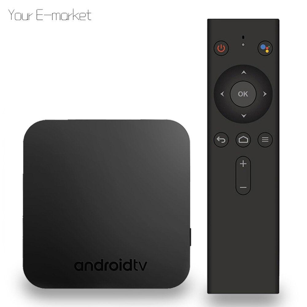 MECOOL KM9 ATV Android 8.1 TV Box boîtier de smart TV Amlogic S905X2 4 GB DDR4 32 GB ROM Set Top Box IPTV 4 K 2.4G/5G WiFi lecteur multimédia