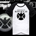 Captain America Cotton T-Shirt The Avengers Agents of SHIELD T Shirt Casual Men Women Short Sleeve Tops