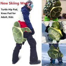 Защитные наколенники для катания на лыжах и сноуборде детей
