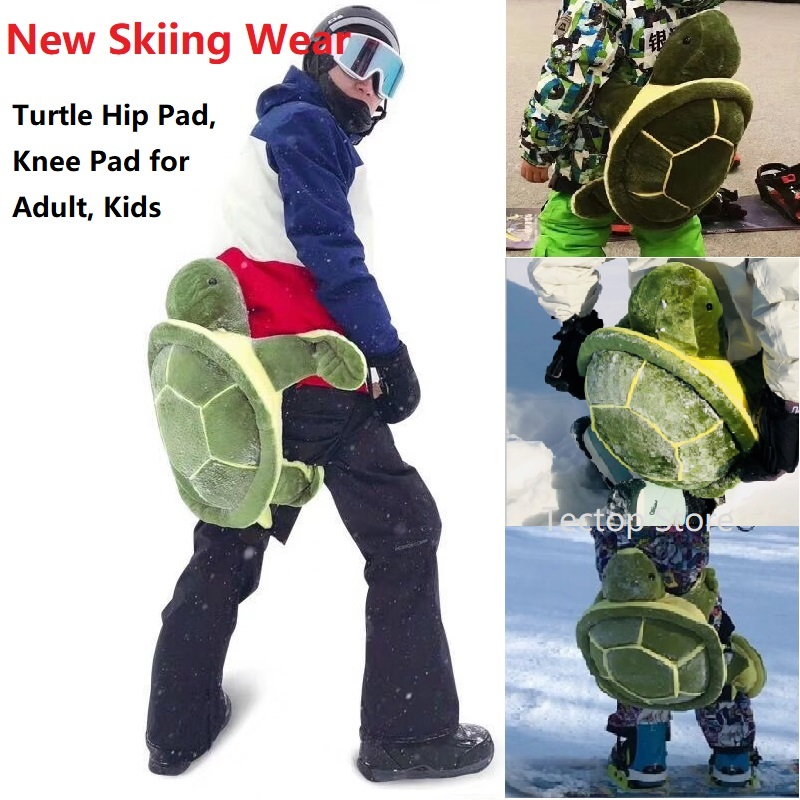 Adult Kids Outdoor Sports Skiing Skating Snowboarding Hip Protective Snowboard Protection Ski Gear Children Knee Pad Hip Pad sergio tacchini active water