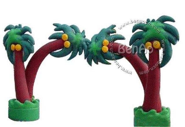 R005 Сумасшедший Цена ПВХ Commerical открытый кокосовая пальма надувные арки для продажи