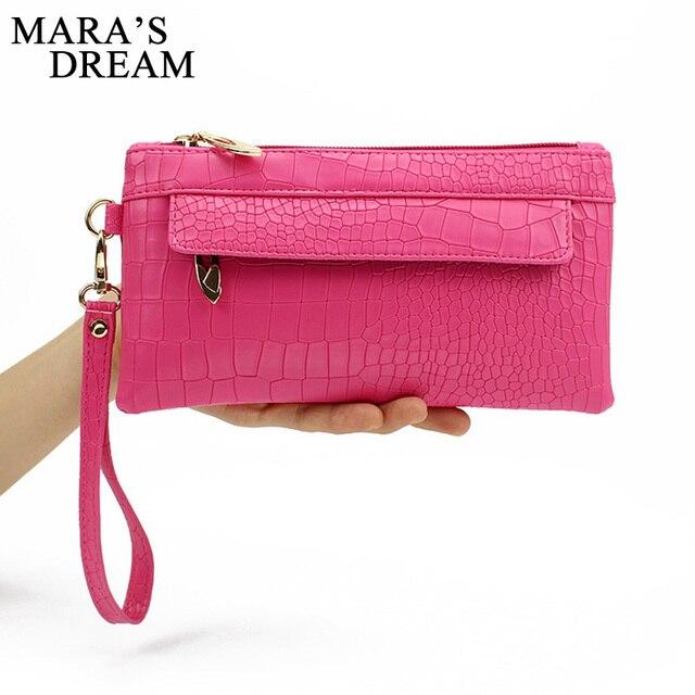Mara's Dream Candy Color PU Leather Women Bag Day Clutches Women Envelope Bag Clutch Evening Bag Female Handbag Wristlets Bags 5