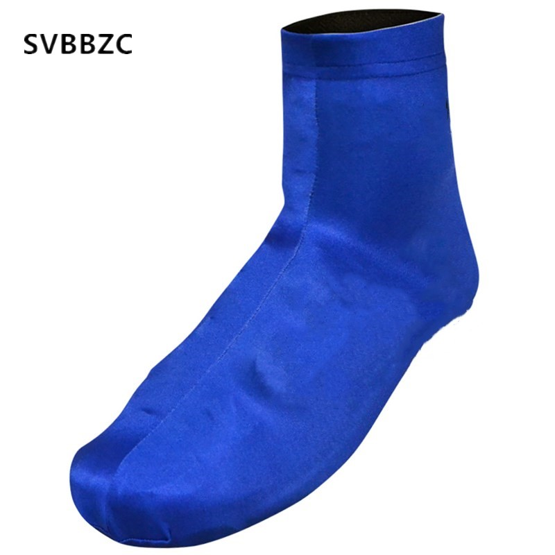 2018 Blue Summer Bicycle Cycling Overshoes MTB Bike Cycling Shoes Cover Sports Shoe Cover Pro Road Racing Shoe Cover