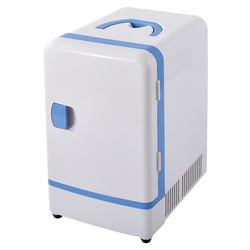 Dupla Utilização 12 v 7L Mini Carro Geladeira Portátil Multi-Função Mais Quente Casa de Viagem Camping 36 Refrigerador Refrigerador Do Carro -48 w Geladeiras
