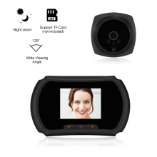 1.3MP глазок дверной камера 3-дюймовый цветной экран видео-телефон двери Система внутренней связи ip-телефон компании Телезритель двери глаз видео-дверной звонок домой безопасности