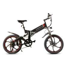 Samebike Электрический велосипед мопед велосипед 48 в электрический велосипед 350 Вт Мотор 10Ah Умный складной электровелосипед мопед велосипед Быстрая доставка