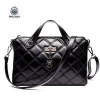 2016 Hot Ladies Chain Bag Genuine Leather Brands Design Lingge Tassel Small Incense Wind Shoulder Messenger