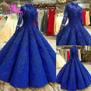 Image 2 - AIJINGYU 高級花嫁衣装キラキラプラスサイズワンダフルショップチューブ中国ガウン割引ウェディングドレス店