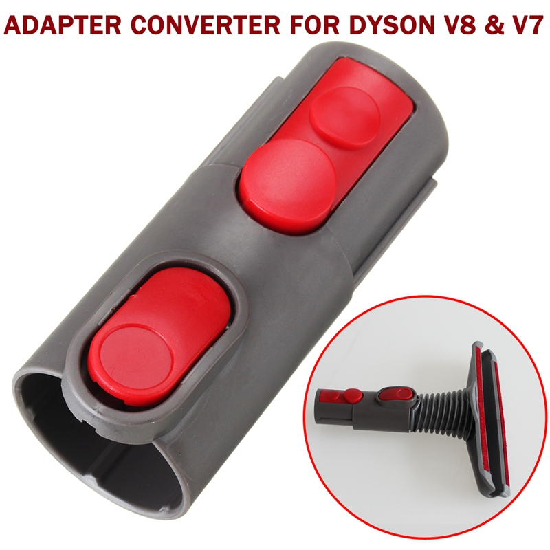 Universal Vacuum Cleaner Accessories Connector Adapter Converter For DYSON V8 For V7 Cord-Free free shipping multifunctional smart vacuum cleaner for home sweep vacuum mop sterilize lcd touch button schedule virtual wall