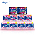 100% Soft Cotton With Wings Sanitary Napkin Pads Day Use 240mm 10pads*4pack+ Heavy Flow 284mm 10pads*4pack+Night Use 6pads*2pack