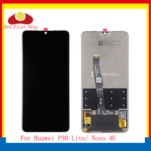 10Pcs/lot For Huawei P30 Lite LCD Display Touch Screen Digitizer Assembly Nova 4E Pantalla monitor Complete