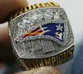 2016 - 2017 Super Bowl LI New England Patriots Championship Ring Fan Ring BRADY