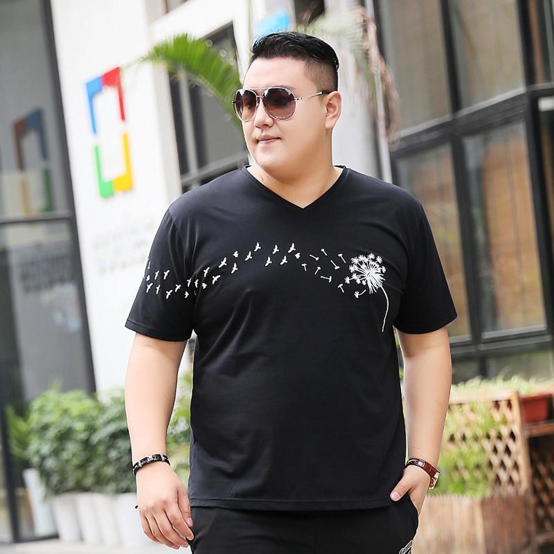 c916a5b4bf9da51 Новинка 2018, большие размеры 9XL 8XL 7XL 6XL, модная мужская летняя  брендовая мужская хлопчатобумажная футболка с короткими рукавами, футболка  с 3d принтом ...