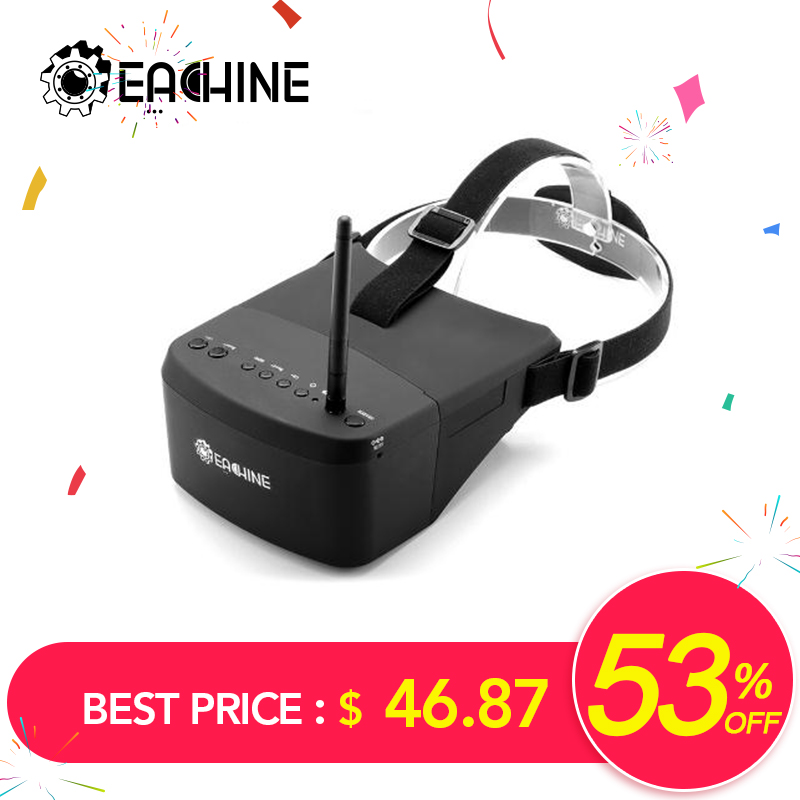 Eachine EV800 5 Inches 800x480 FPV Video Goggles 5.8G 40CH Raceband Auto-Searching Build In Battery