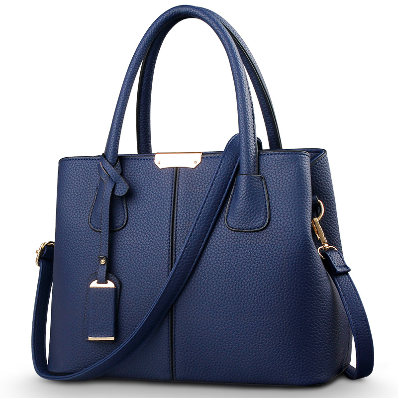 5add7c3a26 OLGITUM Hot Sale 2018 New Fashion Big Bag Women Shoulder Messenger Bag  Ladies Handbag HB001-in Shoulder Bags from Luggage   Bags on Aliexpress.com