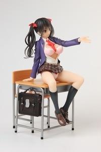 Image 4 - Anime Alphamax Skytube Issho Ni Shiyo Ayaka Futaba Sexy Girl PVC Action Figure Collectible Model doll toy 23cm