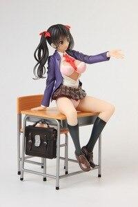 Image 4 - Anime Alphamax Skytube Issho Ni Shiyo Ayaka Futaba seksowna dziewczyna pcv figurka Model kolekcjonerski doll toy 23cm